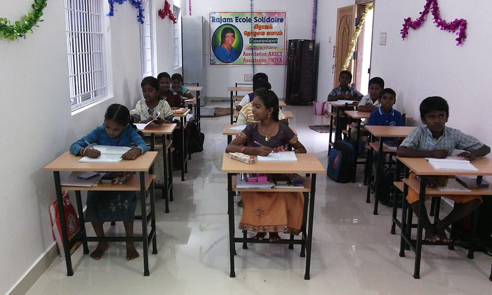 Ecole solidaire Rajam - Inde du Sud Rajagopalaperi - association Dhiya